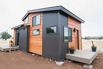 Tiny Home Project by Floors & More Abbey Flooring